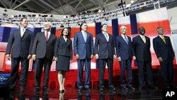 آیوا لومړنی ایالت دی چې جمهوري غوښتونکي کاندیدان په کې خپلمنځي رقابت کوي.