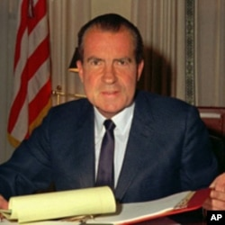 Former US President Richard Nixon (FILE)