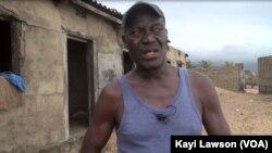 Effowe Toblie, un sexagénaire du village d'Afidégnigba au Togo, 19 septembre 2018. (VOA/Kayi Lawson)