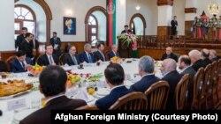 Afg'oniston prezidenti saroyida qabul