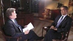 پرزیدنت اوباما در مصاحبه اختصاصی با استیو کرافت، خبرنگار شبکه تلویزیونی سی-بی -اس