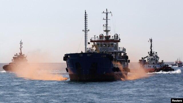 Un pétrolier (Image d'archives).
