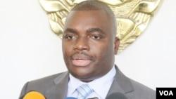 Edson Macuácua, porta voz da presidência moçambicana
