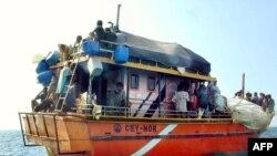 Thuyền của người tị nạn Sri Lanka