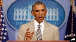 El presidente Obama admitió que aún no tiene una estrategia para combatir a los extremistas del Estado Islámico.