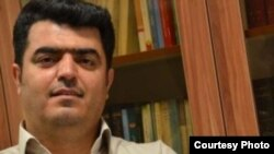 Tehran Teachers' Trade Association board member Esmail Abdi appears in this undated photo. Amnesty International says he has been on a hunger strike at Tehran's Evin prison since April 24, 2018, to protest his detention and Iran's suppression of trade unions.