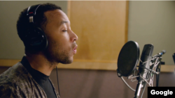 Singing star John Legend will lend his voice to the Google Assistant later this year, it was announced at Google's I/O 2018 developers' conference in Mountain View, California on May 8, 2018. (Google)