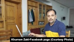 Khurran Zaki, aktivis HAM terkemuka di Pakistan ditembak mati di Karachi, Pakistan, Minggu, 8 Mei 2016.