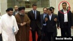 عبدالله باقری نیارکی، یکی از اعضای تیم محافظان محمود احمدینژاد