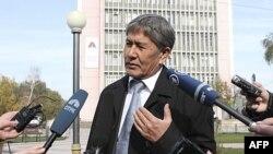 Qırğızıstanın yeni prezidenti 2014-cü ildən sonra Manas bazasını bağlayacaq