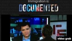 En el filme Documented, José Antonio Vargas expone su caso como el de un estadounidense indocumentado.