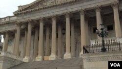 美國國會大廈參議院一側(資料照)