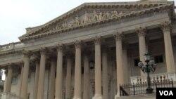 美国国会大厦参议院一侧(资料照)