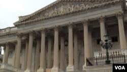 美國國會大廈參議院一側(資料圖片)