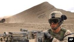 아프간에서 작전중인 미군 (자료사진)