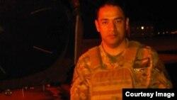 جگرن داریوش کبیر، افسر قوای هوایی افغانستان