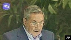 کیوبا کے صدر رئول کاسترو