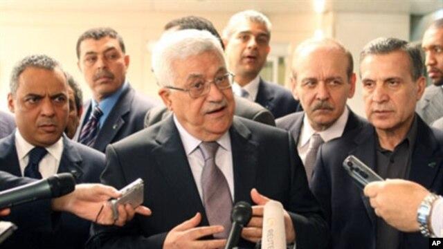 Palestinian Authority President Mahmoud Abbas (file photo)