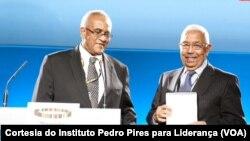 Pedro Pires recebe prémio da Mo Ibrahim Foundation