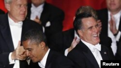 A pocas horas del último debate presidencial los candidato Barack Obama y Mitt Romney se preparan para hablar sobre política exterior.
