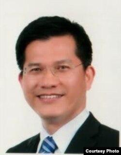 台湾民进党籍立委林佳龙(台立法院提供)