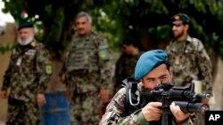 """از سه هفته به این سو عملیات """"اتل اوه"""" در اطراف شهر ترینکوت در برابر طالبان آغاز شده است."""