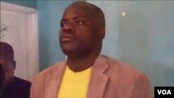 secretário pronvicial da juventude da CASA (JPA) Nelson Ngolambole
