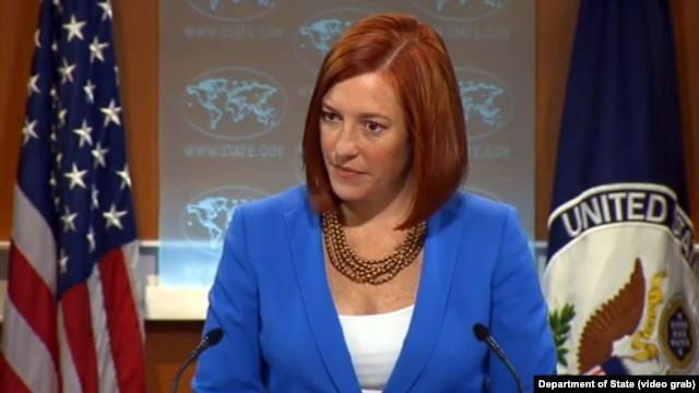 جن ساکی، سخنگوی وزارت امورخارجه آمریکا