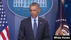 رئیس جمهور اوباما گفت که انگیزۀ این رویداد ریشه یابی خواهد شد