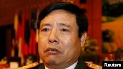 Bộ trưởng Quốc phòng Việt Nam Phùng Quang Thanh.
