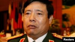 越南国防部长冯光青