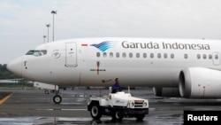 Máy bay Boeing 737 Max 8 của hãng Garuda.