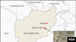 Lima orang kemungkinan tewas dalam kecelakaan pesawat di provinsi Ghazni Afghanistan, Senin (27/1).