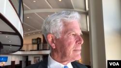 美國國家軍事學院退休教授科爾(Bernard Cole)(美國之音黎堡2019年6月26日)