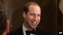 英國劍橋公爵威廉王子(資料圖片)