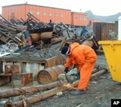 A promise fulfilled: The cleanup of 1,500 tons of debris from a Russian station on Bellingshausen Beach King George Island, Antarctica