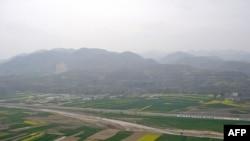 Một giới chức ngành lâm nghiệp Trung Quốc nói rằng diện tích đất bị xuống cấp đã giảm bớt nhờ những nỗ lực khẩn hoang của chính phủ