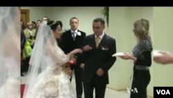 Lyudmila va Denis, to'y videosidan