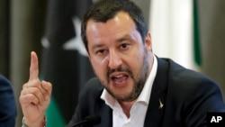 Menteri Dalam Negeri Italia, Matteo Salvini