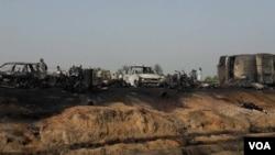 آتشزدگی کی زد میں آنے والی گاڑیاں