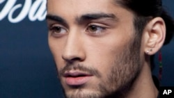Mantan personil One Direction, Zayn Malik.