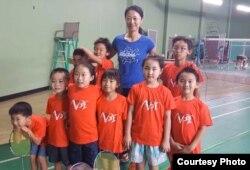 前中国奥运羽毛球选手陈颖在美授徒
