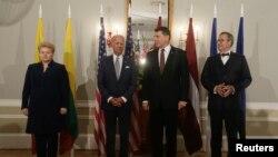 Джозеф Байден і керівники країн Балтії