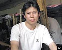 中国著名人权活动人士许志永