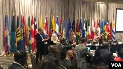 La Comisión Interamericana para el Control del Abuso de Drogas (CICAD) sesionó este jueves 19 de noviembre de 2019 en Miami, Florida.