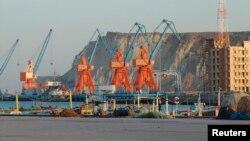 巴基斯坦地处阿拉伯海的瓜达尔港深水码头