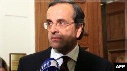 Ông Antonis Samaras, lãnh đạo phe bảo thủ, từ chối không ký một cam kết thực thi biện pháp kiệm ước