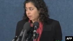 Salah seorang anggota militer AS memberikan kesaksian mengenai pelecehan seksual dalam militer (foto: dok).