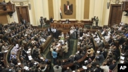 Заседание египетского парламента. Каир. 10 июля 2012 г.