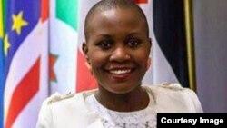 PhD candidate Maureen Kademaunga